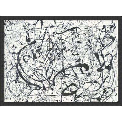 Grey Number 14 Jackson Pollock
