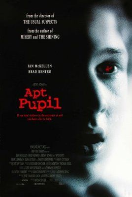 Apt Pupil Poster Id 671268 Movie Posters Cinema Posters Thriller Movie