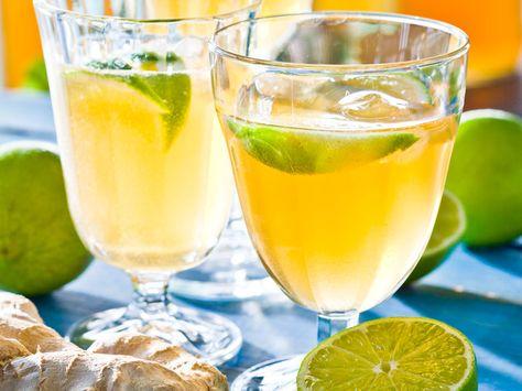 drink ingefära lime