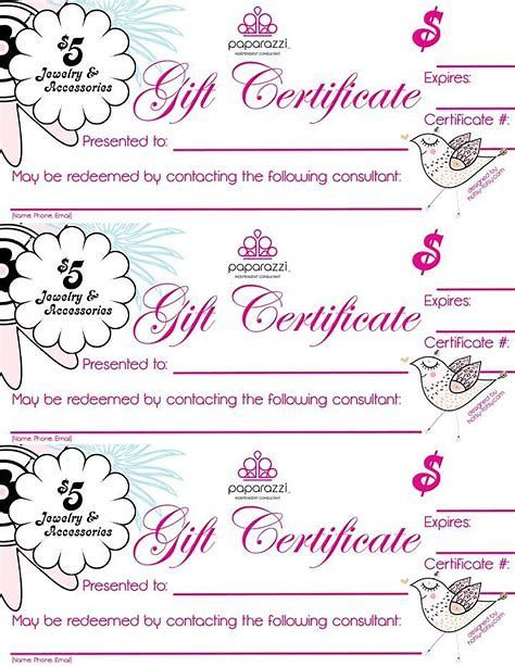 Image Result For Paparazzi Jewelry Gift Certificate Template Paparazzi Jewelry Paparazzi Gifts Paparazzi Accessories
