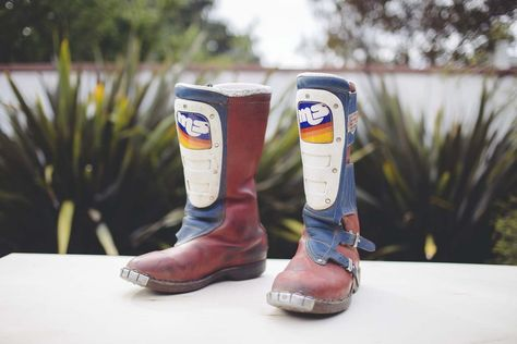 Vintage Malcolm Smith MX Leather Race Boots – The Mighty