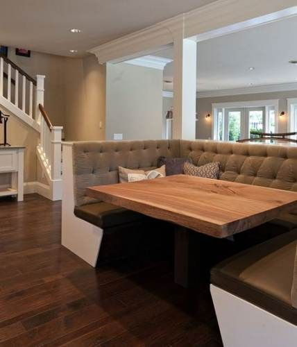Dining Room Booth Ideas Cluedecor, Booth Dining Room Table