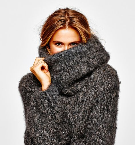 Sweaters Get Big (and Bigger) for Fall - WSJ