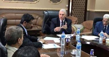 تفاصيل اجتماع رئيس مصلحة الجمارك مع رئيس الإتحاد العربى للمخلصين الجمركيين Talk Show Scenes Talk