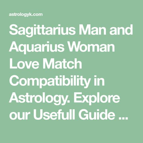 sagittarius man in love signs