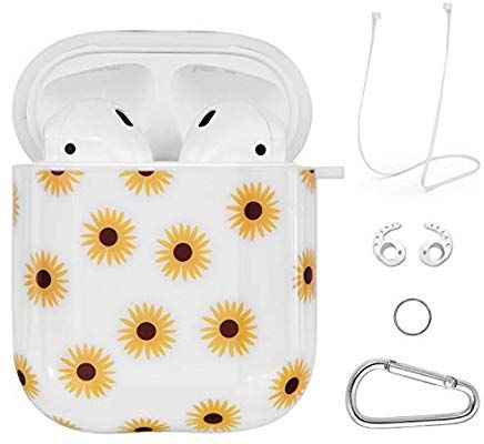 Amazon Com Airpods Case Vigoss 4 In 1 Airpod Case Cover Glossy Airpods Accessories Shockproof Protective Set Airpod Case Cute Phone Cases Iphone Phone Cases