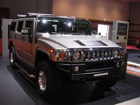 Pin X Cars Lets Talk About Cars Silver Hummer H2