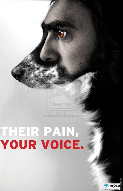 Animal Rights Poster 1 by ~ShaunaLeavitt on deviantART