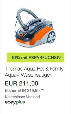 Thomas Pet Family Aqua Staub Und Waschsauger Beutellos Haus Garten Schnappchen Waschsauger Kuche Und Haushalt Und Haushalt