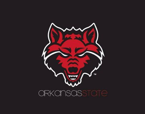 Pin By Ladawn Fuhr On We Are Astate Arkansas State University Red Wolf Arkansas State