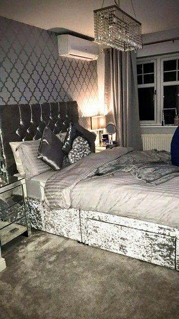 Camden Trellis Wallpaper Soft Grey Silver Home Decor Bedroom Silver Bedroom College Apartment Decor