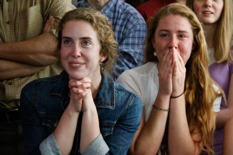 Think the Church is irrelevant to young people? Check out the honest and awestruck reactions of students at Thomas Aquinas College in California as they watched white smoke rise above St. Peter's last week...