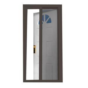 Seasonguard 40 In X 97 5 In Brown Retractable Screen Door K