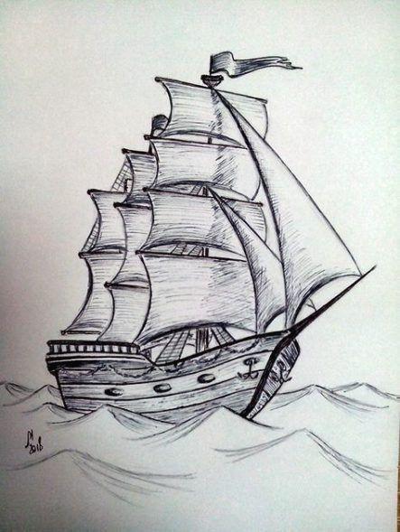 80 schiffeideen  boot zeichnung schiffszeichnung