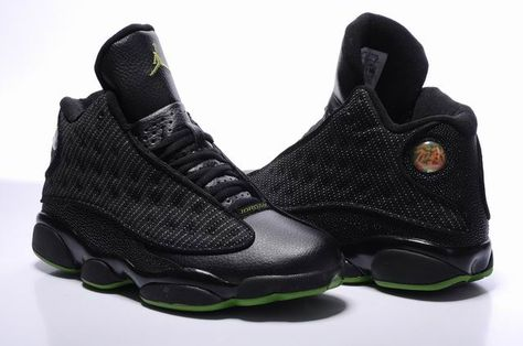 separation shoes 81ef0 fb807 Air Jordan 13 Retro Altitude 2010 Release Black Green