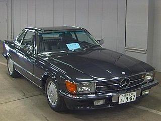 السيارة حاليا موجودة باليابان موعد نزولها المزاد بتاريخ 30 5 2019 Mercedes 300sl Model 1987 K M 19000 ا Japan Motors Unique Cars Mercedes