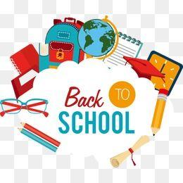 School Back To School Elements School Vector School Clipart