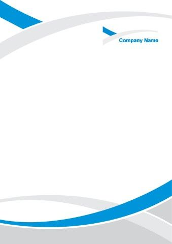 Corporate Identity 2 poster background template   Business