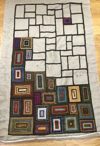 A Blog About Quilting Weaving Knitting Gardening Spinning Embroidery And Family Rug Hooking Designs Rug Hooking Hooked Rugs Primitive