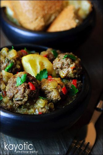 One of my favorite Moroccan dishes.  I cut back the lemon because my dh doesn't like that much lemon.  Otherwise, it's perfect!