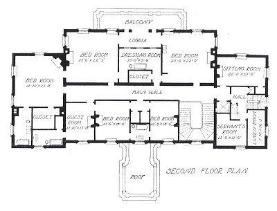 John Rus Pope S Meyer White House 2nd Floor Plan Via Architect Design Floorplans Pinterest Washington Dc And Plans