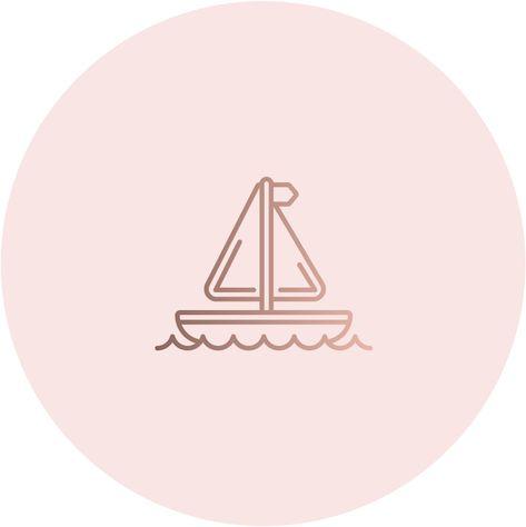 Иконки вечных сториз для аккаунта Инстаграм, хайлайтс, актуальное, закрепленные сторис, пиктограммы, профиль, страница, блог, блогер, блоггер, заставка, корабль, отдых, путешествие