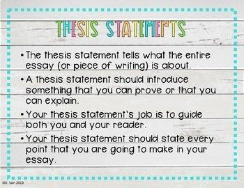 Thesis Statement Vs Topic Sentence PowerPoint With Handout (Grades 5-8) |  Thesis Statement, Topic Sentences, Thesis Sentence