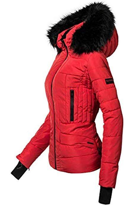 Parka Winterjacke Winter Designer Mantel Damen Jacke warm lFJKc1