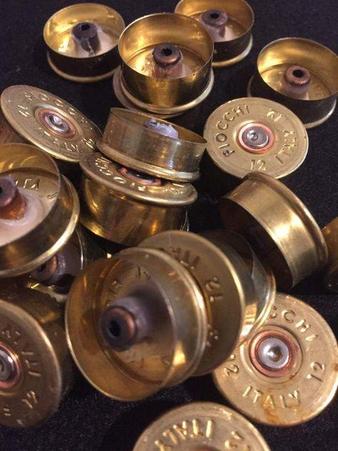 Gold Head Stamps Shotgun Shell 12 Gauge End Caps Brass Bottoms – Craft Supplies Depot
