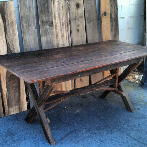 Landrum Tables Made From Reclaimed Wood With Images Dining