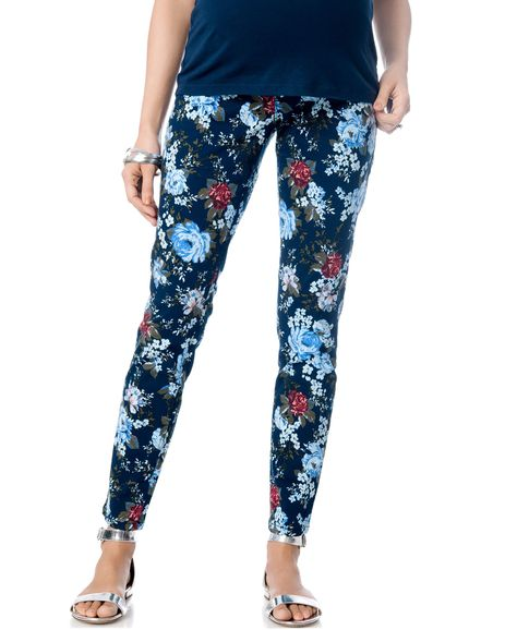 8573c36460dd1b Motherhood Maternity Floral-Print Leggings | Products | Pinterest | Ropa