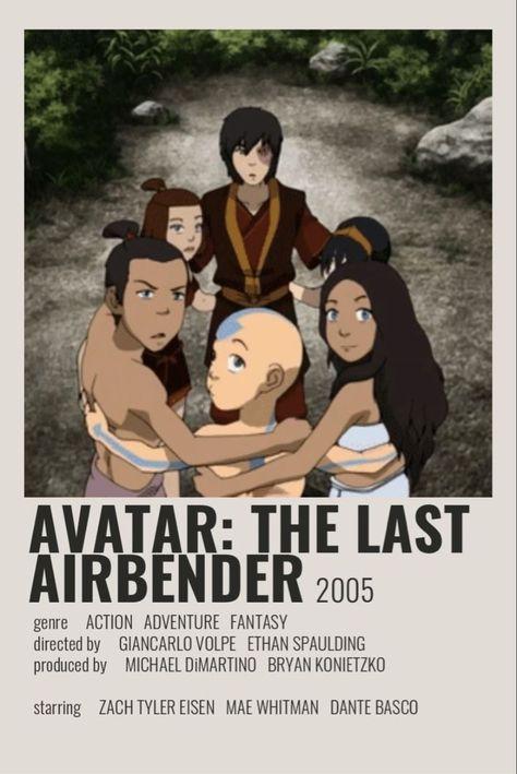 Avatar The Last Airbender Minimalist Movie Poster
