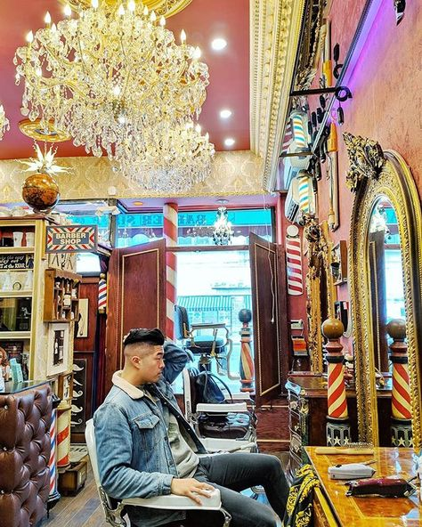 "NYC's CULTURE CURATOR on Instagram: ""WHAT:  NYC BARBERSHOP MUSEUM. ""Step back in time, through blue and wine-colored velvet curtains, into this museum and authentic barbershop…"""