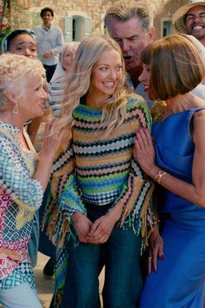Mamma Mia 2 Dancing Queen Scene Mamma Mia 70s Inspired