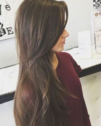 27 Amazing Long Hairstyles For Fine Thin Hair With Layers Ms Full Hair In 2020 Long Fine Hair Thin Hair Layers Haircuts For Long Hair Straight