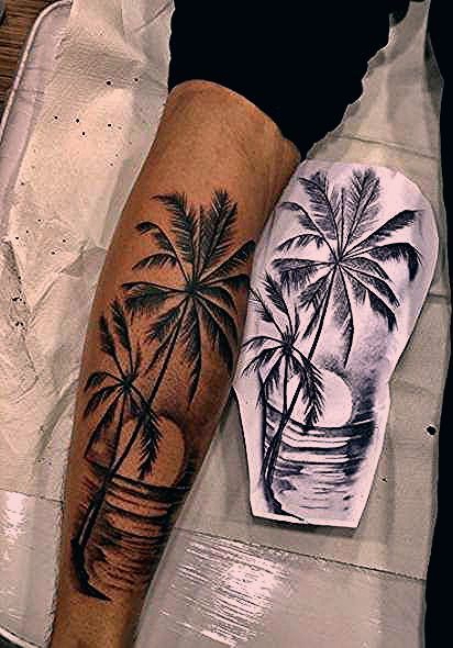 Best Palm Tree Tattoo Ideas Beach Ideas Tattoo Tree With Images