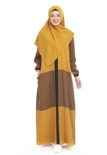 Warna Jilbab Untuk Baju Mustard
