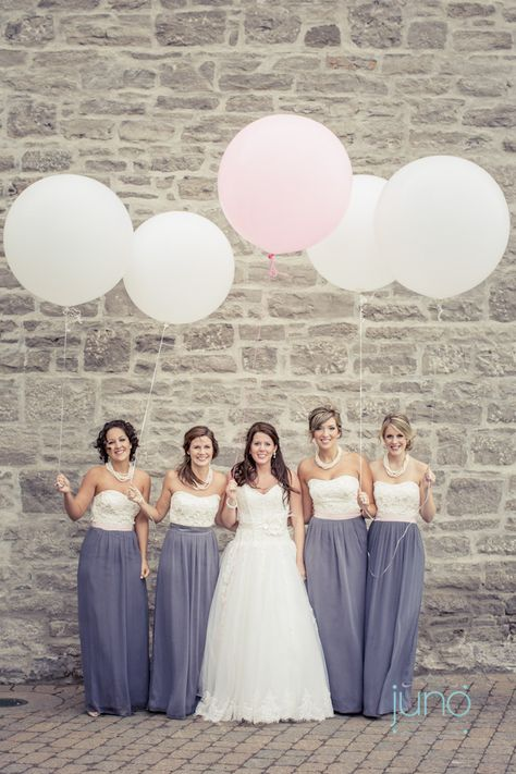 Lovely Two Tone Bridesmaid Dresses In 2019 Wedding