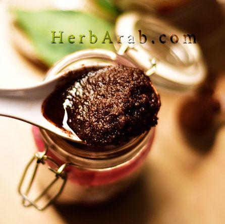 مدونة اي هيرب بالعربي مقشر القهوة للجسم وماهي طريقة سكراب فرانك للتبييض Food Desserts Coffee Scrub