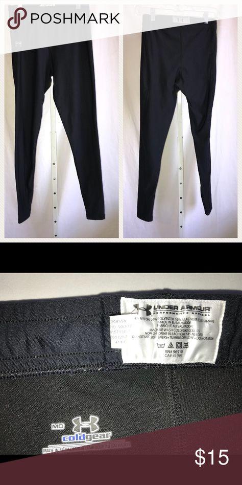 hurtownia online kody promocyjne szczegółowe zdjęcia Under Armour coldgear black leggings | Armours, Customer ...