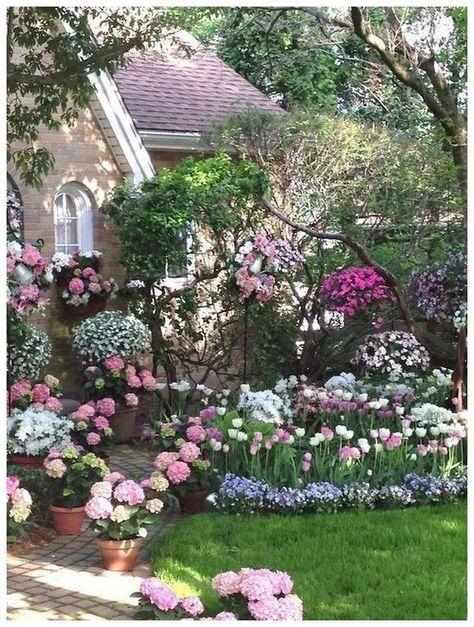 370 Backyard And Flower Garden Ideas