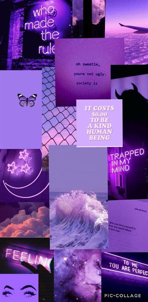 Purple Collage In 2020 Purple Wallpaper Iphone Iphone Color Wallpaper Iphone Iphone Wallpaper Vintage Dark Purple Wallpaper Aesthetic wallpaper iphone purple