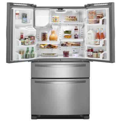 Whirlpool 24 Cuft French Door Refrigerator Wrx735sdbm