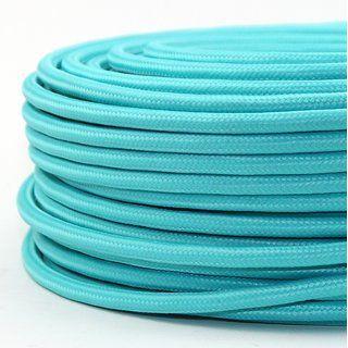 Textilkabel Stoffkabel Ta Rkis Mint Gra N 3 Adrig 3x0 75 Gummischlauchleitung 3g 0 75 H03vv F Textilummantelt Textilkabel Kabel Stromkabel