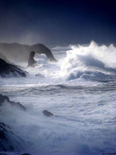 Storm ~ Depoe Bay, Oregon
