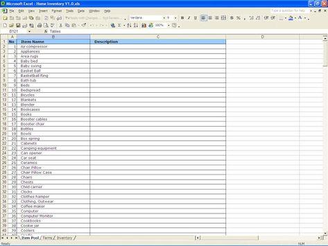 Mau yang lebih? Yuk Beli Rumah di GAN PROPERTI! Manfaatkan BPJS - Restaurant Inventory Spreadsheet Template