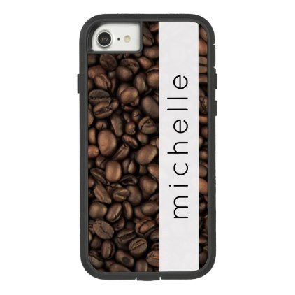 Your Name Roasted Arabica Coffee Beans Brown Case Mate Tough Extreme Iphone 8 7 Case Coffee Beans Arabica Coffee Beans Grinding Coffee Beans