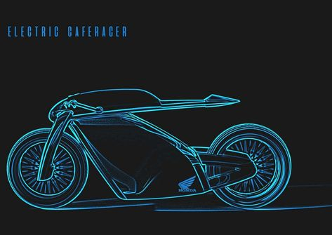 Electric Cafe Racer Concept and the Philosophy behind it