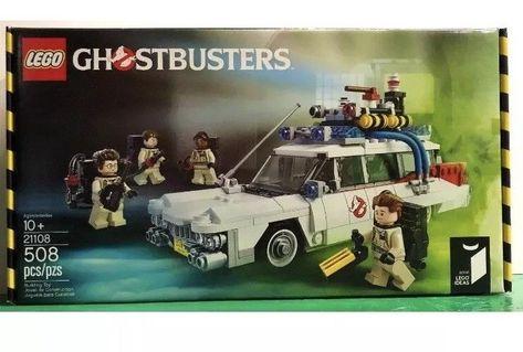 lego ideas ghostbusters ecto 1 21108 new in sealed batman box rh pinterest com au