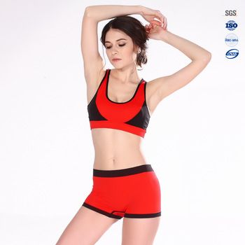 Wholesale Sexy Hot Designer Girls Sports Bra And Panty Sets